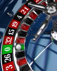 Casino, roulette wheel
